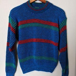 Vintage apparatus 80's sweater knit retro